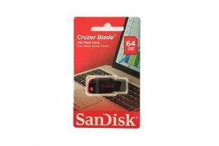 فلاش ميمورى - Flash Memory 64 GB SanDisk (Cruzer Blade)