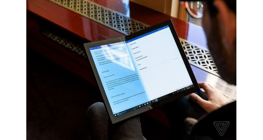 Lenovo ThinkPad is the world's first foldable laptop